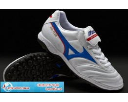 Mizuno Morelia Club AS Boots - Pearl/Blue/Red