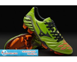 Mizuno Wave Ignitus 2 MD Boots - Grn/Blk/Orng
