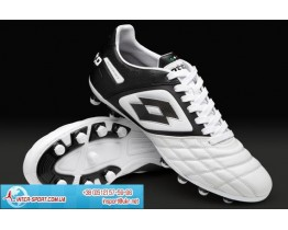 Lotto Stadio Potenza II 100 FG - White/Black