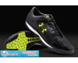 Under Armour Striker Turf Boots - Blk/Blk/Yell